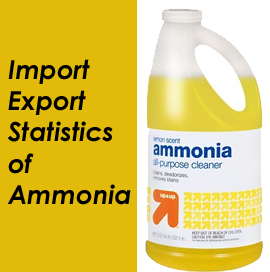 Ammonia Trade Data