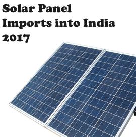 Solar Panel Import Data