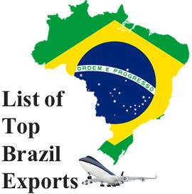 Top Brazil Exports