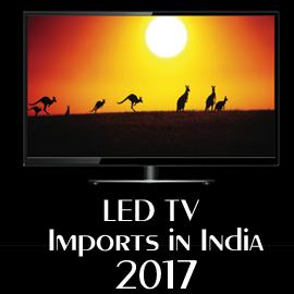 LED TV Imports