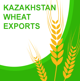 Wheat Exports from Kazakhstan