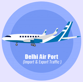 Delhi Air Import Export Traffic