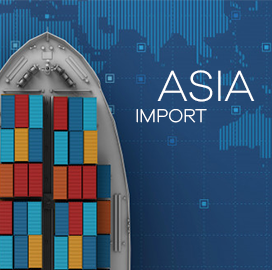 Asian Countries Import Data