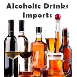 Alcoholic Drinks Imports