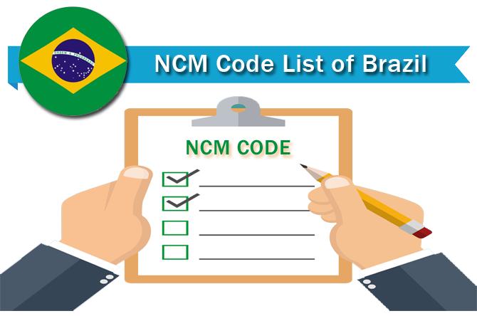 NCM Code Brazil