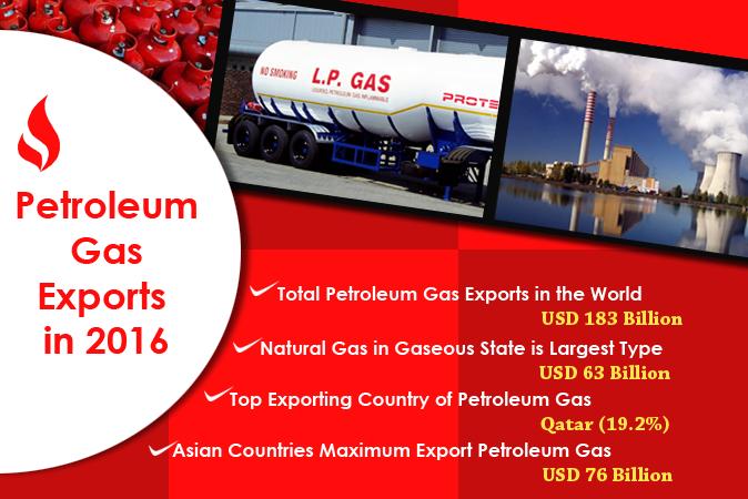 Petroleum Gas Exports