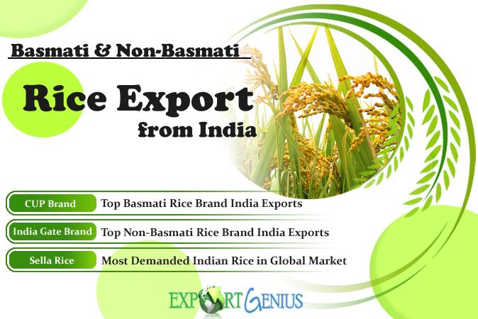 Indian Basmati and Non-Basmati Rice Brands - India Rice Export Data 20