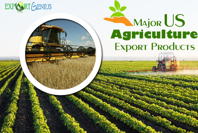 Exports of US Agricultural Products in 2017 – US