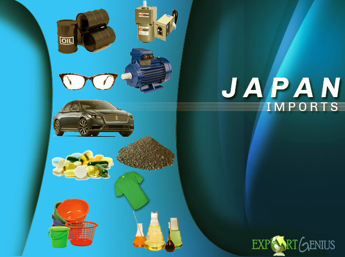 What does Japan Import from the World? Japan Import Products List
