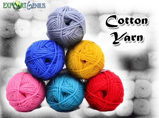 China Cotton Yarn Import