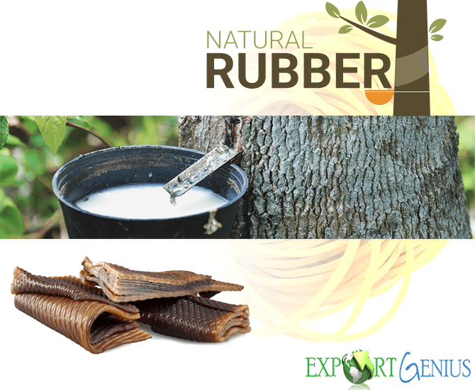 Natural Rubber Export from Vietnam