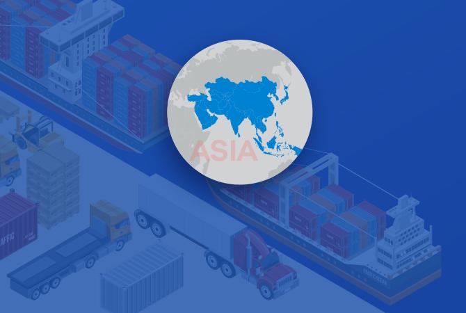 Asian Countries Export Data